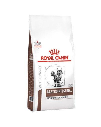 Cat gastro intestinal moderate calorie feline 400 g