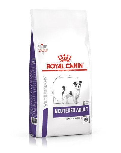 Neutered adult small dog - 1.5 kg