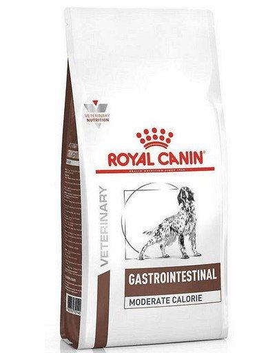 Dog gastro intestinal moderate calorie 2 kg