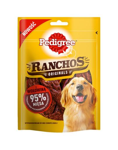 Ranchos Originals 70g - przysmak dla psów z wołowiną