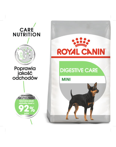 Mini Digestive Care karma sucha dla psów dorosłych, ras małych o wrażliwym przewodzie pokarmowym 8 kg