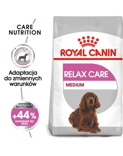 Medium Relax Care karma sucha dla psów dorosłych, ras średnich, narażonych na działanie stresu 3 kg