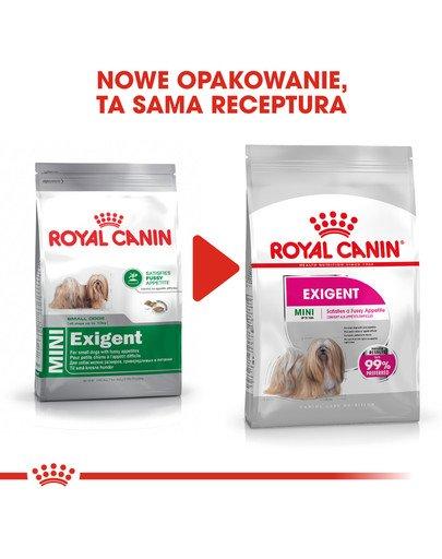 Mini Exigent karma sucha dla psów dorosłych, ras małych, wybrednych 3 kg