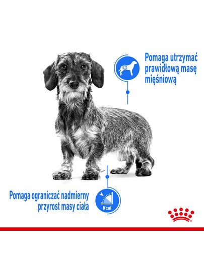 Mini Light Weight Care karma sucha dla psów dorosłych, ras małych z tendencją do nadwagi 3 kg