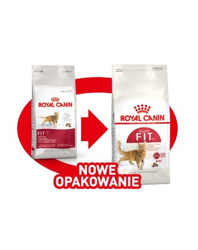 ROYAL CANIN REGULAR FIT 32 400 g karma sucha dla kotów dorosłych, wspierająca idealną kondycję