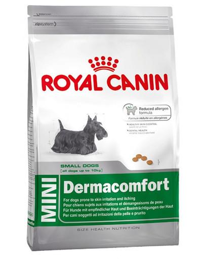 Mini Dermacomfort 2 kg karma sucha dla psów dorosłych, ras małych o wrażliwej skórze skłonnej do podrażnień