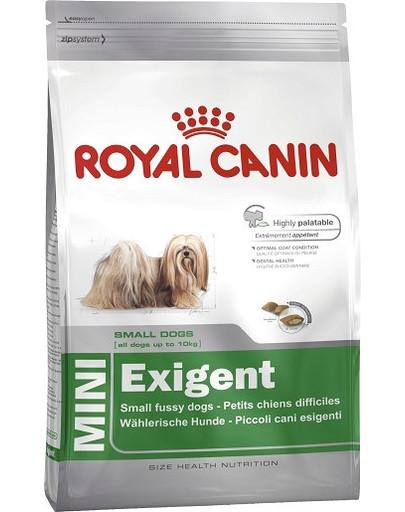 Mini Exigent 4 kg karma sucha dla psów dorosłych, ras małych, wybrednych