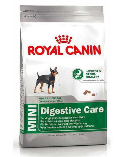 Mini Digestive Care karma sucha dla psów dorosłych, ras małych o wrażliwym przewodzie pokarmowym 10 kg