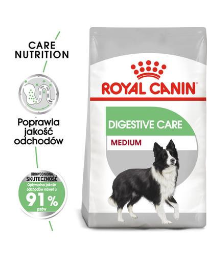 Medium Digestive Care 3 kg karma sucha dla psów dorosłych, ras średnich o wrażliwym przewodzie pokarmowym