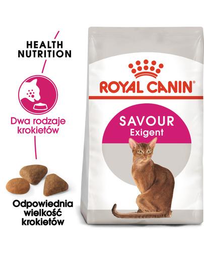 Exigent Savour 35/30 Sensation karma sucha dla kotów dorosłych, wybrednych, kierujących się teksturą krokieta 10 kg