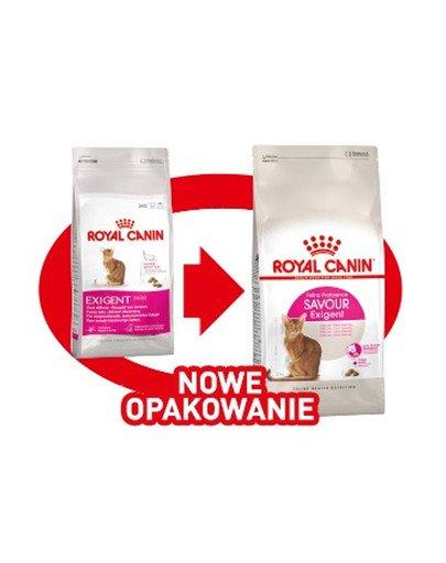 Exigent Savour 35/30 Sensation karma sucha dla kotów dorosłych, wybrednych, kierujących się teksturą krokieta 4 kg