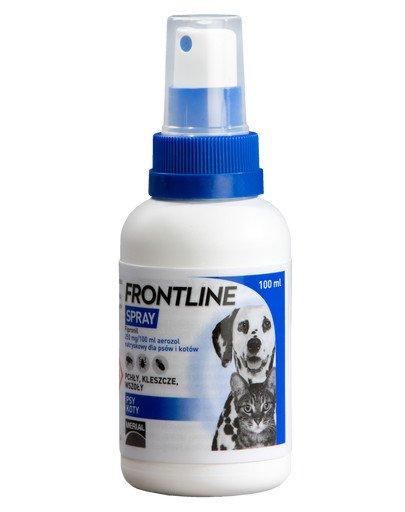 Spray aerozol natryskowy dla psów i kotów 100 ml