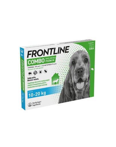 Combo Spot-On dla psów M (10-20 kg) 3 pipetki
