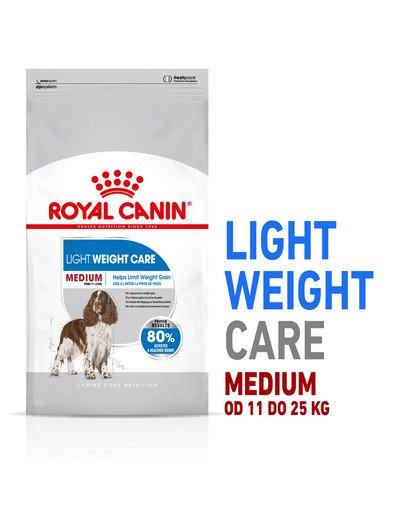 Medium Light Care 3 kg karma sucha dla psów dorosłych, ras średnich z tendencją do nadwagi