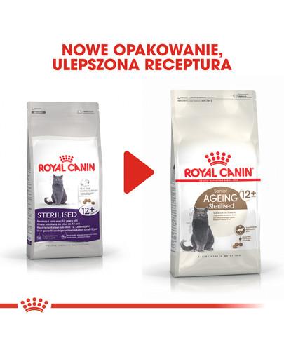 Ageing +12 400 g karma sucha dla kotów dojrzałych, sterylizowanych