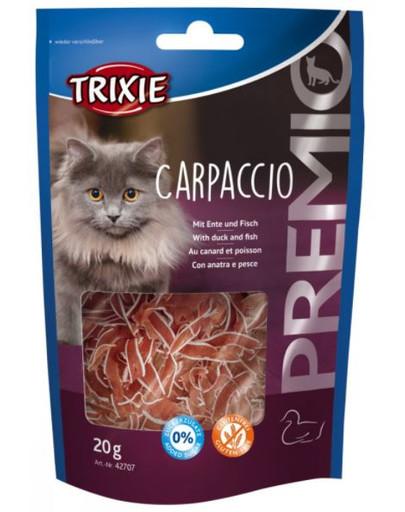PREMIO Carpaccio z kaczką i dorszem 20 g