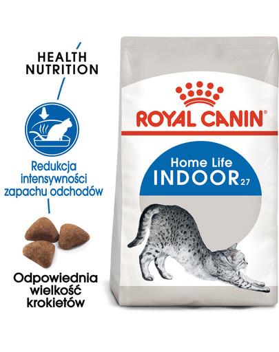 Indoor 27 2 kg karma sucha dla kotów dorosłych, przebywających wyłącznie w domu