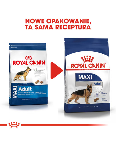 ROYAL CANIN Maxi Adult 15 kg nowe opakowanie