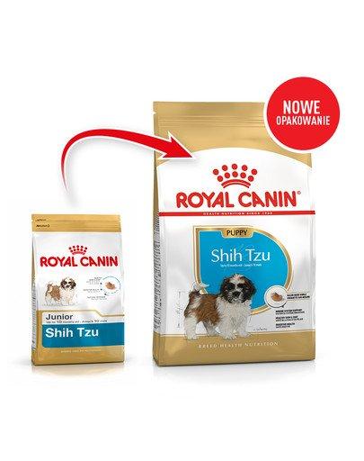 Shih Tzu Junior karma sucha dla szczeniąt do 10 miesiąca, rasy shih tzu 1.5 kg