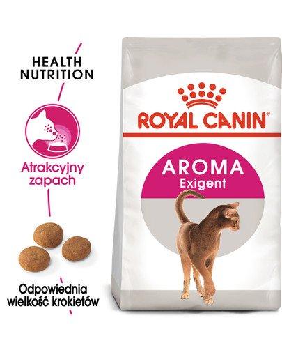 Exigent Aromatic Attraction 33 karma sucha dla kotów dorosłych, wybrednych, kierujących się zapachem 10 kg