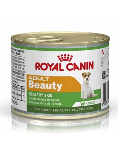 Adult Beauty karma mokra dla psów dorosłych, ras małych, wrażliwa skóra 195 g