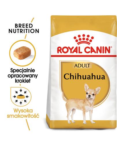Chihuahua Adult karma sucha dla psów dorosłych rasy chihuahua 500 g