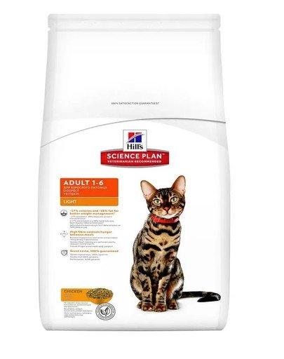 Science Plan Feline Adult Light Chicken 5 kg