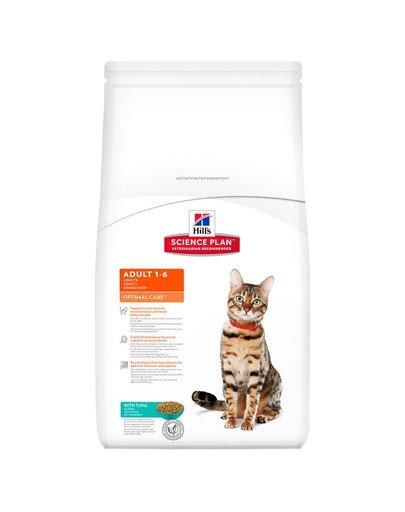 Science Plan Feline Adult Optimal Care Tuna 10 kg
