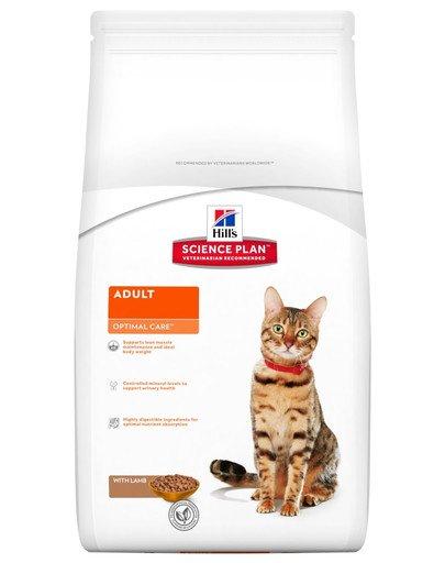 Science Plan Feline Adult Optimal Care Lamb 10 kg