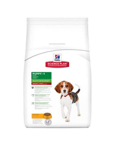 Science Plan Puppy Healthy Development Medium Chicken 12 kg