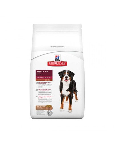 Science Plan Canine Adult Advanced Fitness Large Breed Lamb & Rice 12 kg