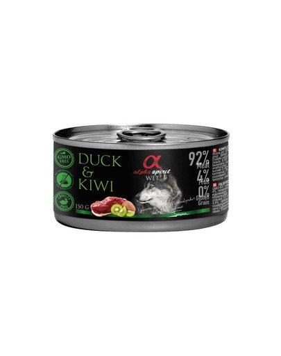 Duck with kiwi Kaczka z kiwi 150 g