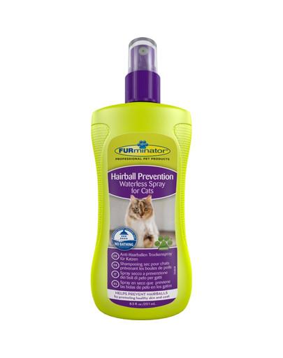 Suchy szampon kotów przeciw powstawaniu kul włosowych 250 ml