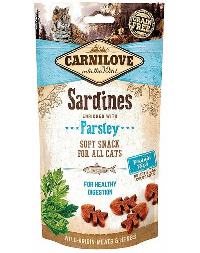 Semi moist snacks delikatne przysmaki z sardynkami i pietruszką 50 g