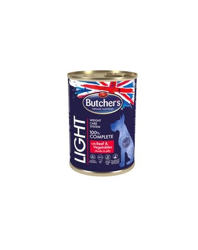 Blue+ Light wołowina/warzywa kawałki w sosie 400 g