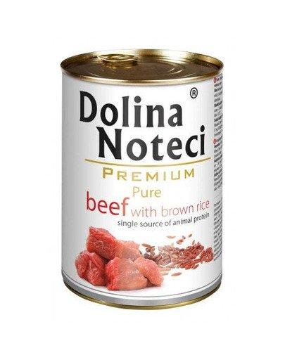 Premium Pure Wołowina Z Ryżem 0,4 kg