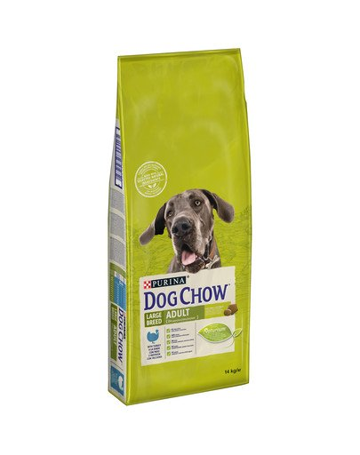 Dog Chow Adult large breed indyk 14 kg
