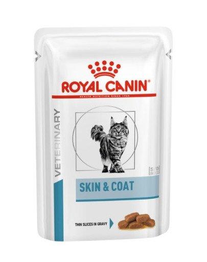 Cat skin & coat saszetka 12 x 100 g