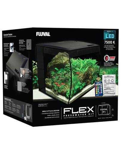 Zestaw Flex Aquarium 34L czarny