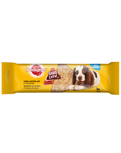 GoodChew (średnie rasy) 88 g - przysmak do gryzienia dla psów z wołowiną
