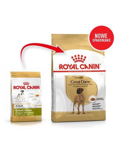 Great Dane Adult karma sucha dla psów dorosłych rasy dog niemiecki 12 kg