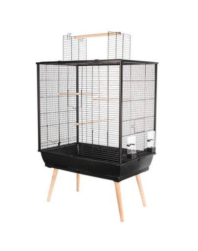 Klatka Neo JILI dla ptaków H80 kol. czarny