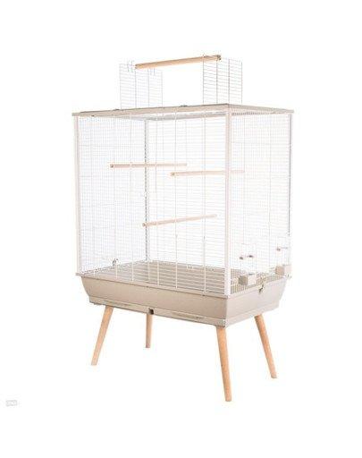 Klatka Neo JILI dla ptaków H80 kol. beżowy