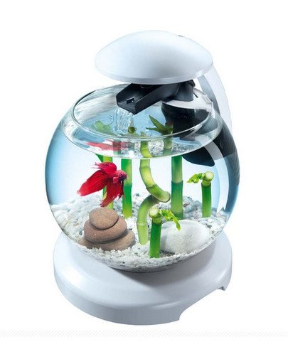 Cascade Globe-Szklana kula z filtrem biała
