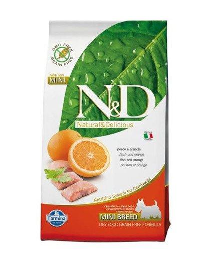 N&D Fish & Orange Adult Mini 2.5 kg