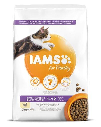 Cat Kitten & Junior All Breeds Chicken 10 kg
