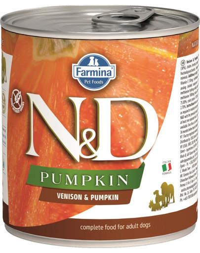 N&D Pumpkin karma mokra dla psa - jeleń i dynia 285 g