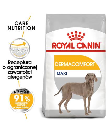 Maxi Dermacomfort karma sucha dla psów dorosłych, ras dużych o wrażliwej skórze 3 kg