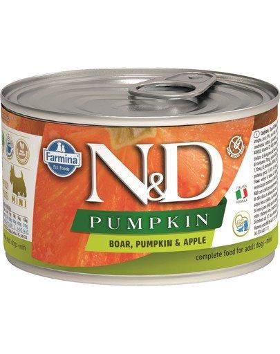 N&D Pumpkin boar & apple karma mokra dla psa - dzik i jabłko 140 g