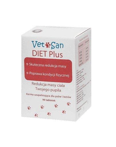 DIET Plus redukcja masy ciała psa i kota 90 tabletek